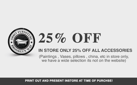 In-Store Coupon 25% OFF Accessories