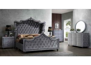 Platinum King Size Bedroom Set