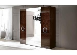 Torino 4 Door Swinging Wardrobe by Alf