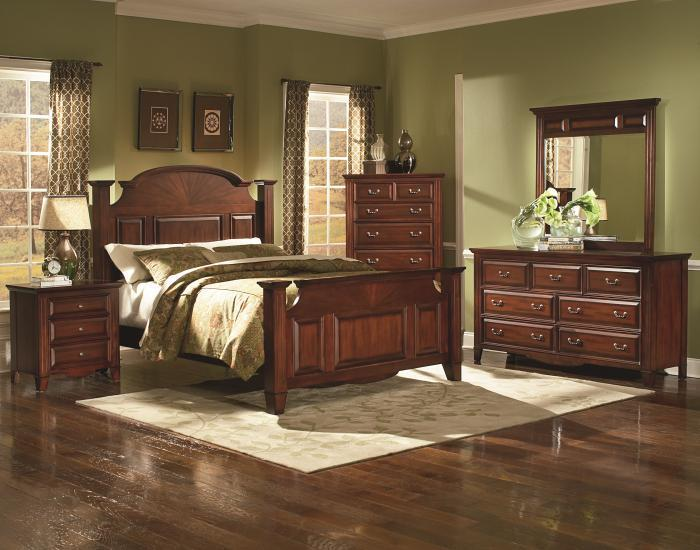 Drayton Hall Queen bed, Dresser, and Mirror,New Classic
