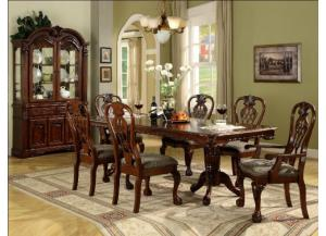 Brussels 7 Piece Dining Room Set
