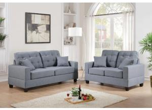 Polyfiber Sofa & Loveseat