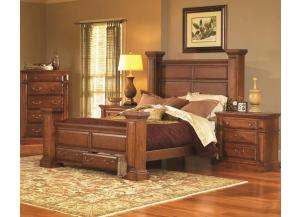 Torreon Rustic King Storage Bed