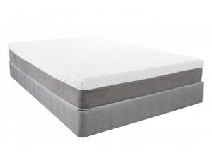 Niagra Gel Foam Queen Mattress Set w/Power Base