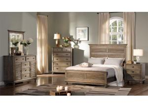 Lakeport Queen Bed- Pewter