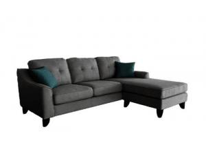 JULIUS Grey Reversible Sectional