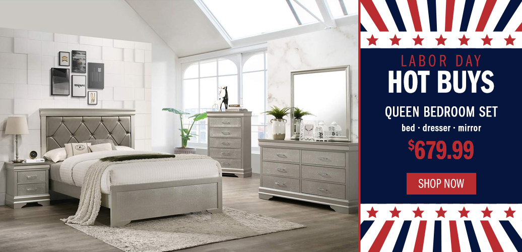 Labor Day Hot Deals - Queen Bedroom Set