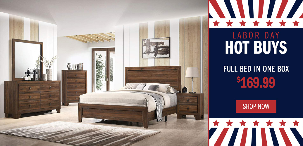 Labor Day Hot Deals - Full Bed in One Box