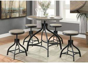 Crown Mark 1172 Adjustable Height Dinette