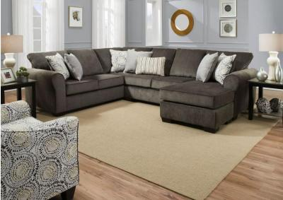 Image for Simmons Harlowe Ash Sectional