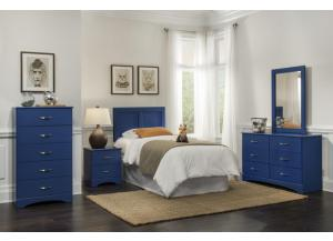 Blue bedroom suite