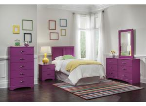Image for Girls Pink Bedroom Suite
