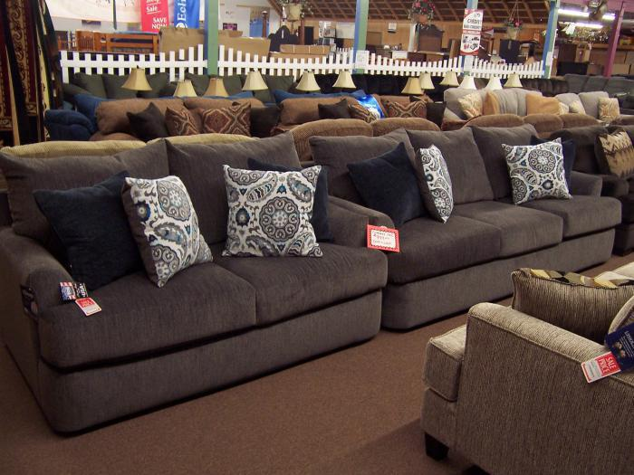 Simmons Sofa and love set,Ahner New Furniture