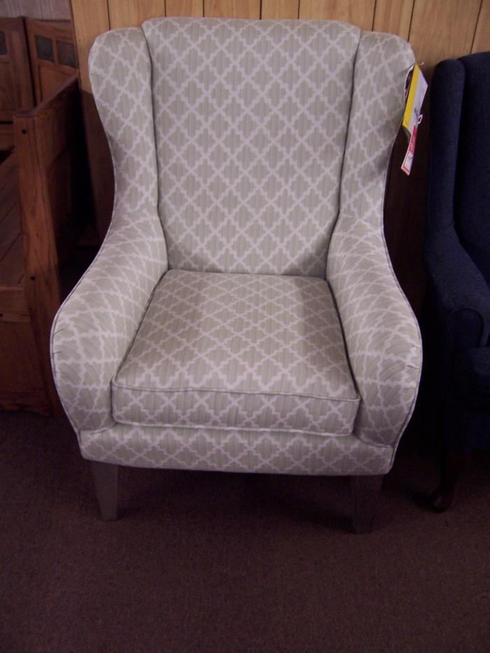 Large Wing Chair. Was $599,Ahner New Furniture