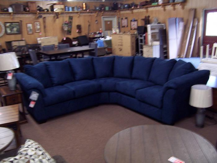 2 Pc Sectional. Was $899.00,Ahner New Furniture