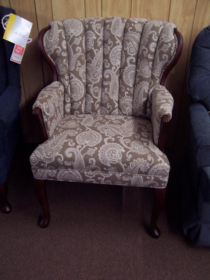 Wing Chair. Was $499,Ahner New Furniture