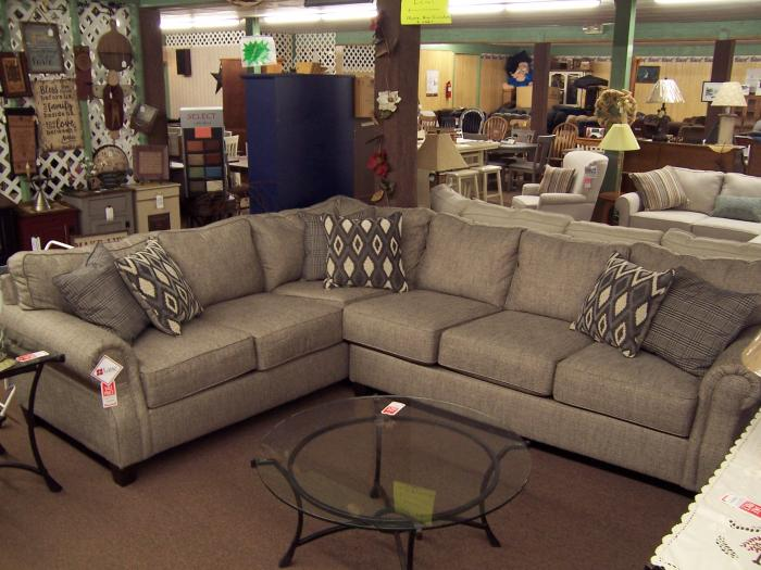 Lane 2 Pc Sectional. Was $1499.00,Ahner New Furniture