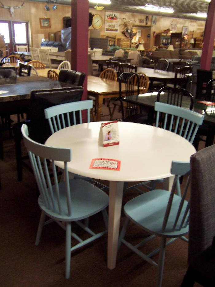 5 pc dinette set,Ahner New Furniture