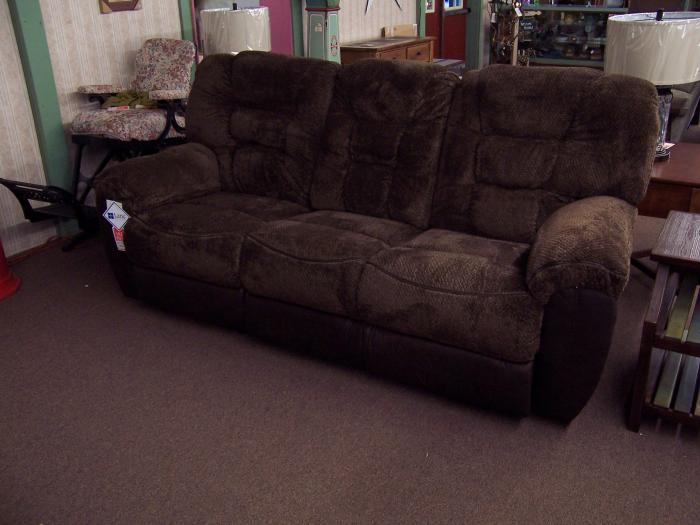 Ultra Plush Duel Reclining Sofa,Ahner New Furniture