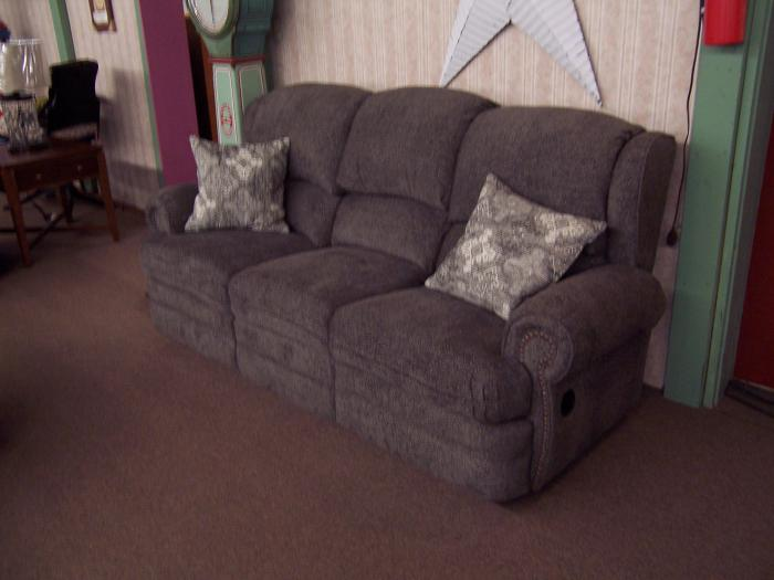 Lane Reclining Sofa. Was $1095.00,Ahner New Furniture