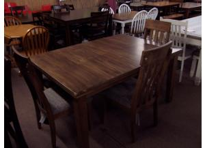 Solid Wood 5 pc dinette. Was 619.00