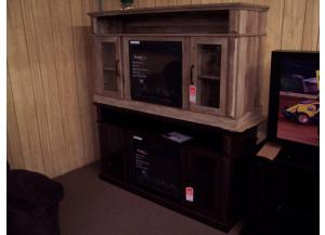 TV Stand with fireplace unit. Was $599.00