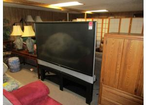 72 inch flat screen TV W/ Stand