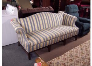Pre-owned striped, sofa