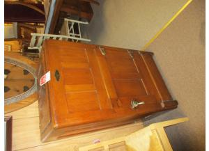 Antique Oak Icebox