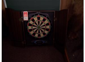 Dart Board W/ scoring pad.
