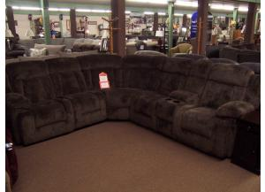 6 Pc 3 Power Reclining Sectional