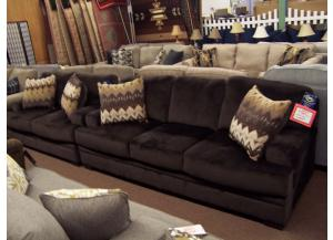 2 Pc sofa and love set. Was $1199.00