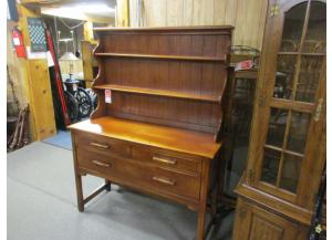 Cushman open faced hutch buffet