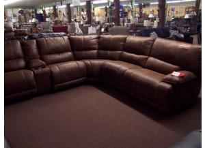 Power reclining sectional. Was $3149.00