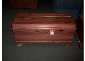 Amish solid cedar chest