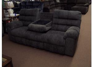 Duel Reclining Sofa W/ drop table. Was $899