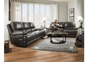 Corinthian 2pc Dual reclining sofa and loveseat