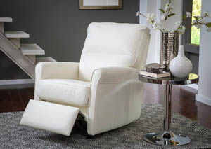 Image for Pinecrest Top Grain Leather Rocker Recliner