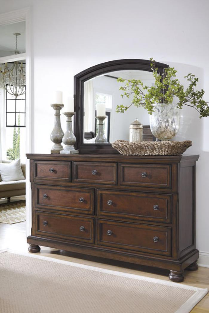 Porter Dresser and Mirror,Ashley