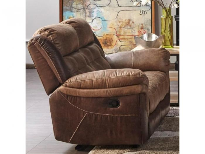 Cheers Two Tone Reclining Love Seat,Cheers