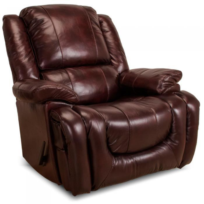 Champion Leather Recliner,FRANKLIN
