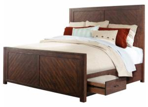 Jax Storage King Bed