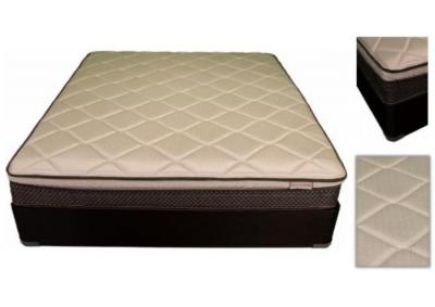 Image for Aberdeen Eurotop Queen Size Mattress with Foundation