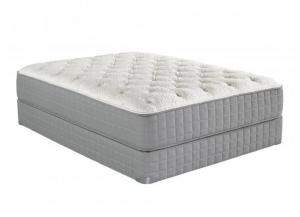 V Plush Queen Size Mattress With Foundation