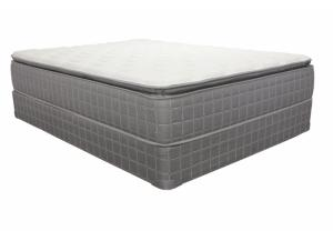 Allenton Pillow Top King Size Mattress with Foundation