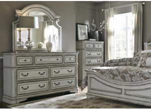 Magnolia Manor Dresser and Mirror