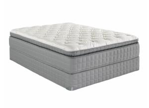 VIII Pillowtop Queen Size Mattress With Foundation