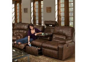 Image for Dakota Reclining sofa with Massage and Frosty Fridge