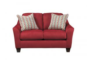 Image for Red Loveseat