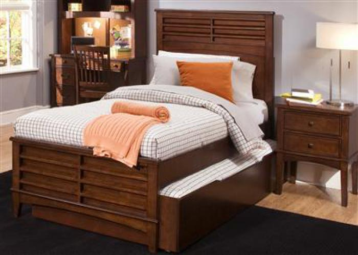 628 Chelsea Square Twin Panel Bed,Liberty Furniture Industries